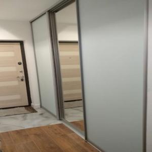 Дверь Зеркало + Стекло с пленкой