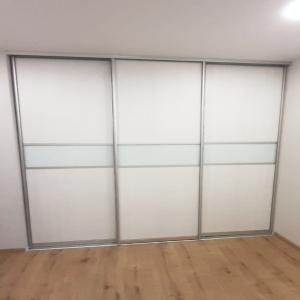 Дверь-купе стекло с пленкой матовое
