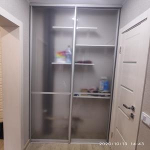 Дверь Стекло матовое с перегородками