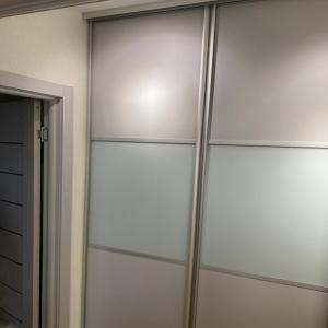 Дверь ЛДСП + Стекло с пленкой